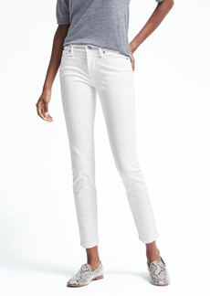 Skinny Stay White Ankle Jean