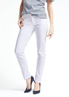 Slim-Straight Stay White Jean