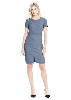 Stitch Detail Flannel Dress