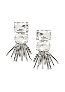 Banana Republic Stone and Beaded Fringe Earring