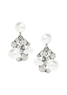 Banana Republic Stone and Pearl Drop Earrings