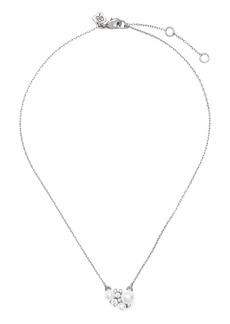 Banana Republic Stone and Pearl Pendant Necklace