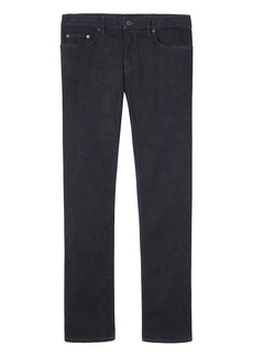 Banana Republic Straight Rapid Movement Denim Dark Wash Jean