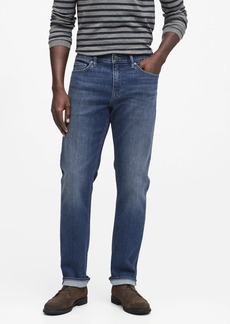 Banana Republic Straight Rapid Movement Denim Jean with COOLMAX® Technology