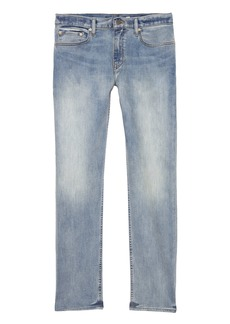 Banana Republic Straight Rapid Movement Denim Light Wash Jean