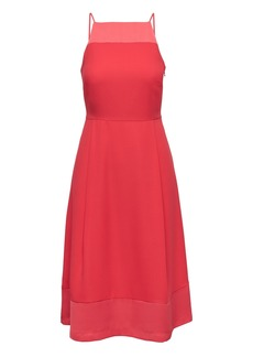 Banana Republic Strappy Fit-and-Flare Dress