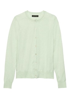 Banana Republic Stretch-Cotton Cardigan Sweater