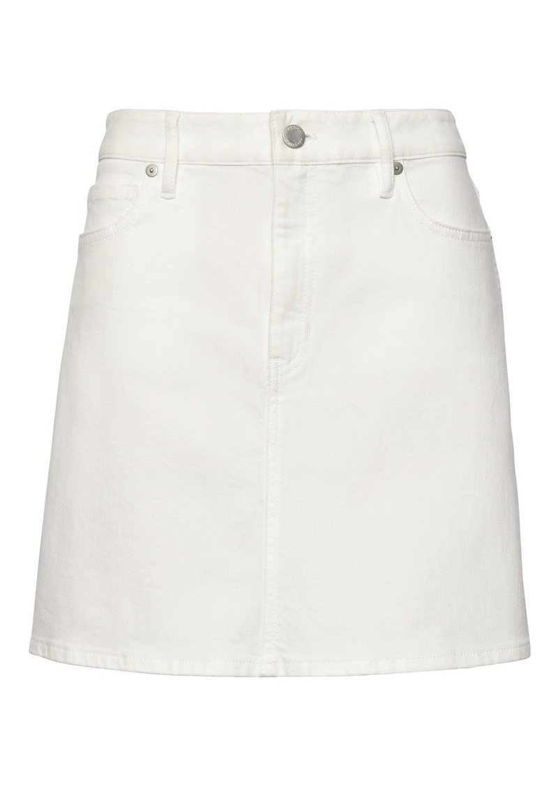 Banana Republic Stretch Denim Mini Skirt