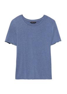 Banana Republic Stretch-Modal Cross-Back T-Shirt