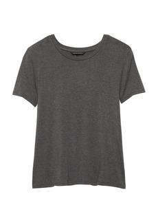 Banana Republic Stretch-Modal Cross-Back T-Shirt