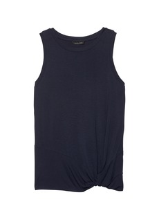 Banana Republic Soft Stretch Twist Hem Tank