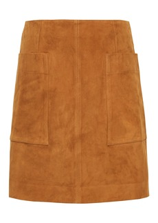 Banana Republic Stretch-Suede Mini Skirt