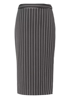 Banana Republic Stripe Bi-Stretch Pencil Skirt