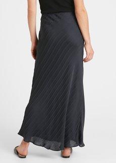 Banana Republic Stripe Bias-Cut Maxi Skirt
