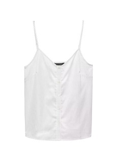 Banana Republic Stripe Button Down Camisole