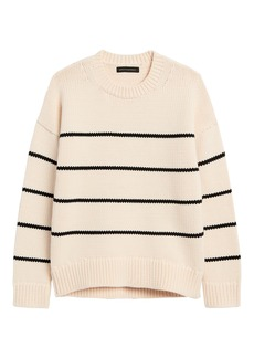 Banana Republic Stripe Chunky Oversized Sweater