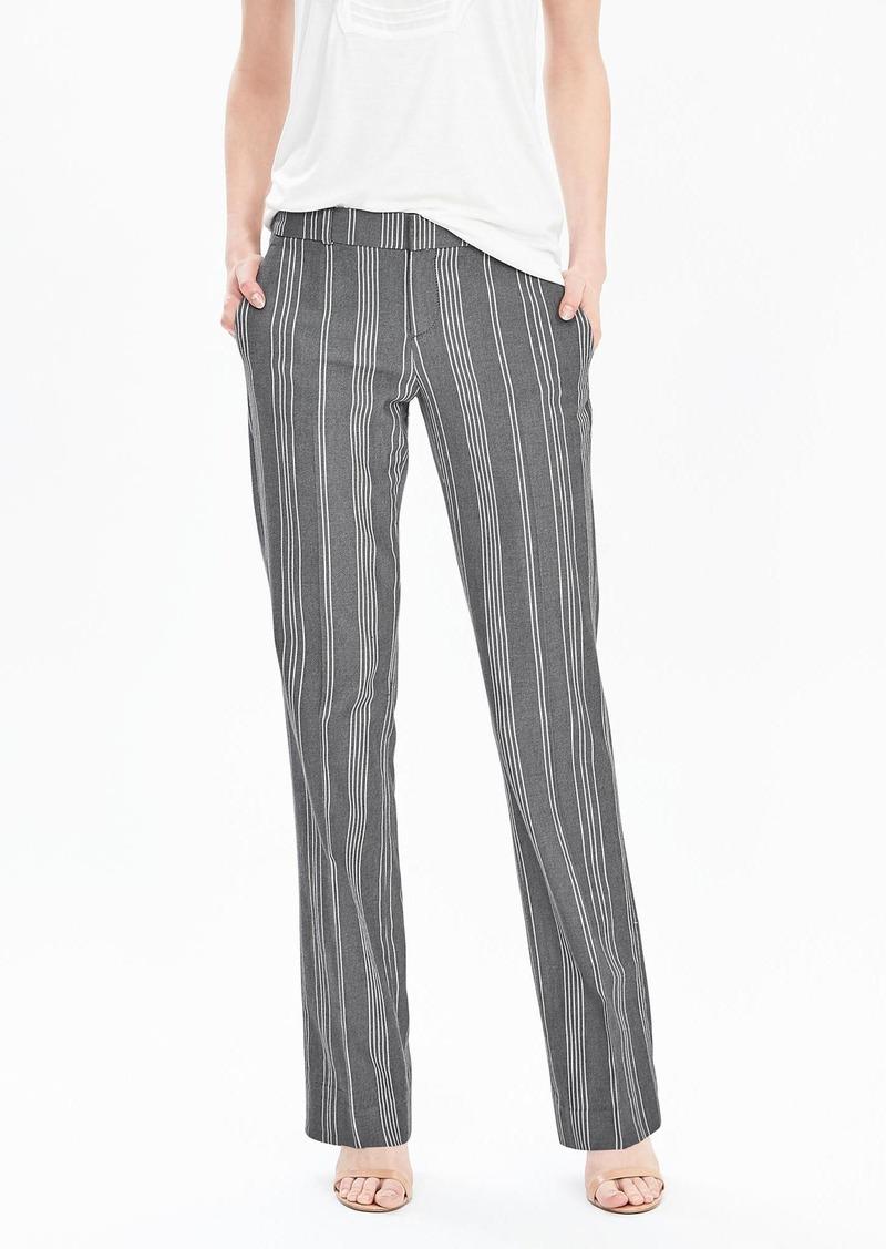 Banana Republic Stripe Cotton Trouser