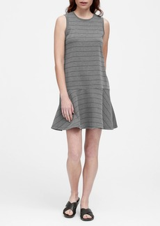 Banana Republic Stripe Drop-Waist Knit Dress
