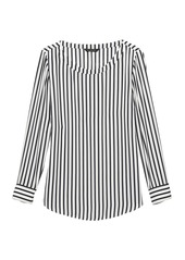 Banana Republic Stripe High-Low Top