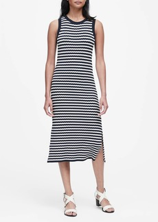 Banana Republic Stripe Knit Dress