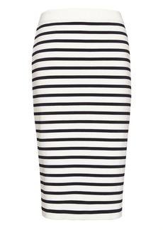 Banana Republic Stripe Knit Pencil Skirt