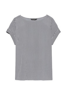 Banana Republic Stripe Polished Tee