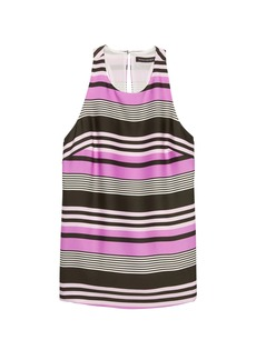 Banana Republic Stripe Racerback Shell