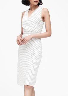 Banana Republic Stripe Sheath Dress