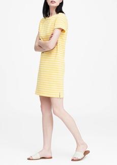 Banana Republic Stripe T-Shirt Dress