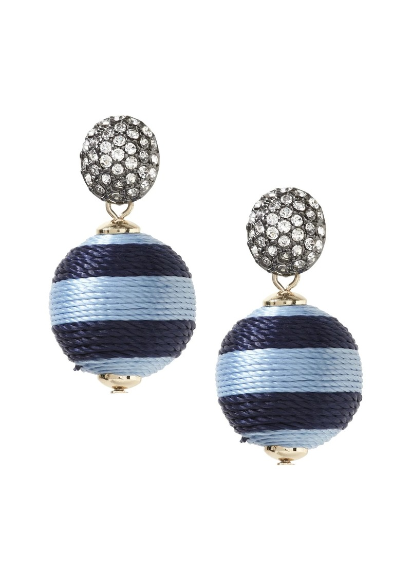 Banana Republic Striped Bauble Drop Earring