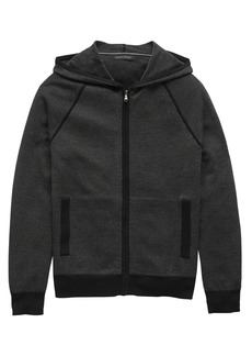 Banana Republic SUPIMA® Cotton Birdseye Full-Zip Sweater Hoodie