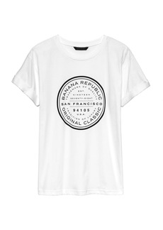 Banana Republic SUPIMA® Cotton City Boyfriend T-Shirt