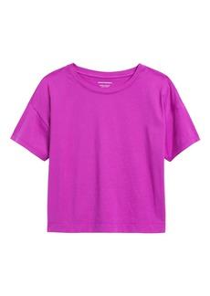 Banana Republic SUPIMA® Cotton Cropped T-Shirt