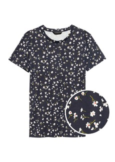 Banana Republic SUPIMA® Cotton Floral T-Shirt