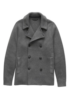 Banana Republic SUPIMA® Cotton Peacoat Sweater