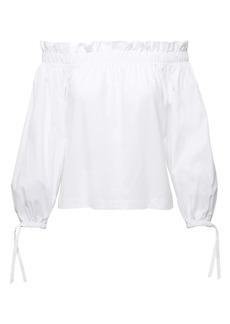 Banana Republic SUPIMA® Cotton Off-the-Shoulder T-Shirt