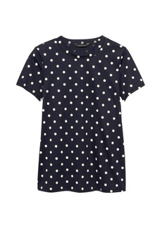 Banana Republic SUPIMA® Cotton Polka Dot T-Shirt