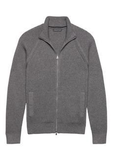 Banana Republic SUPIMA® Cotton Full-Zip Sweater