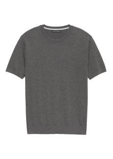 Banana Republic SUPIMA® Cotton Crew-Neck Sweater