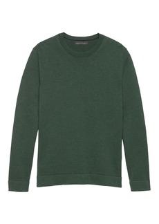 Banana Republic SUPIMA® Cotton Side-Zip Sweater