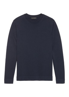 Banana Republic SUPIMA® Cotton Side-Zip Sweater