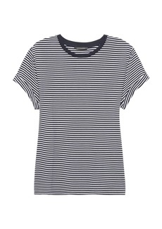 Banana Republic SUPIMA® Cotton Stripe Boyfriend T-Shirt