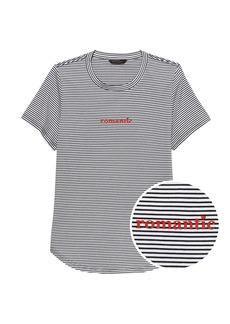Banana Republic SUPIMA® Cotton Stripe T-Shirt