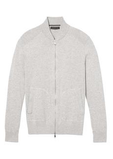 Banana Republic SUPIMA® Cotton Sweater Bomber