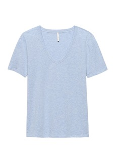Banana Republic SUPIMA® Cotton V-Neck T-Shirt
