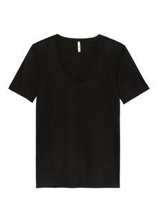 Banana Republic SUPIMA® Cotton V-Neck T-Shirt