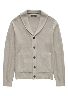 Banana Republic SUPIMA® Shawl-Collar Cardigan Sweater