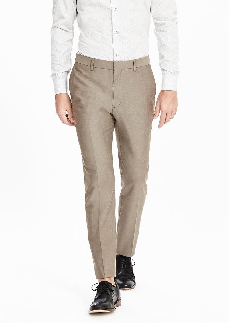 Banana Republic Tailored Slim Non-Iron Twill Pant