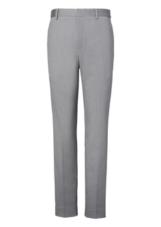 Banana Republic Tapered Non-Iron Stretch-Cotton Pant