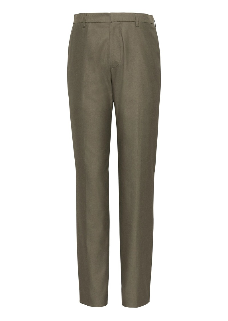Banana Republic Athletic Tapered Non-Iron Stretch Cotton Pant